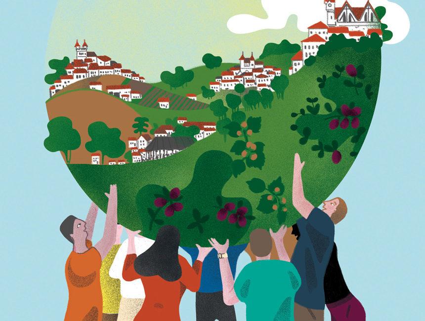 Illustration Partenariat territoire rural